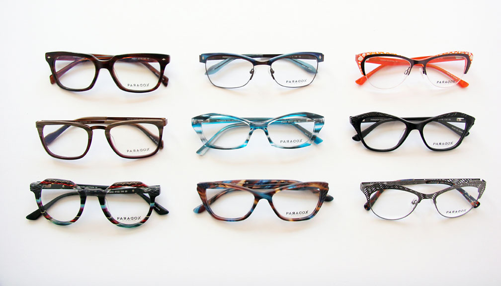 PARADOX Eyewear at Hillcrest Optical