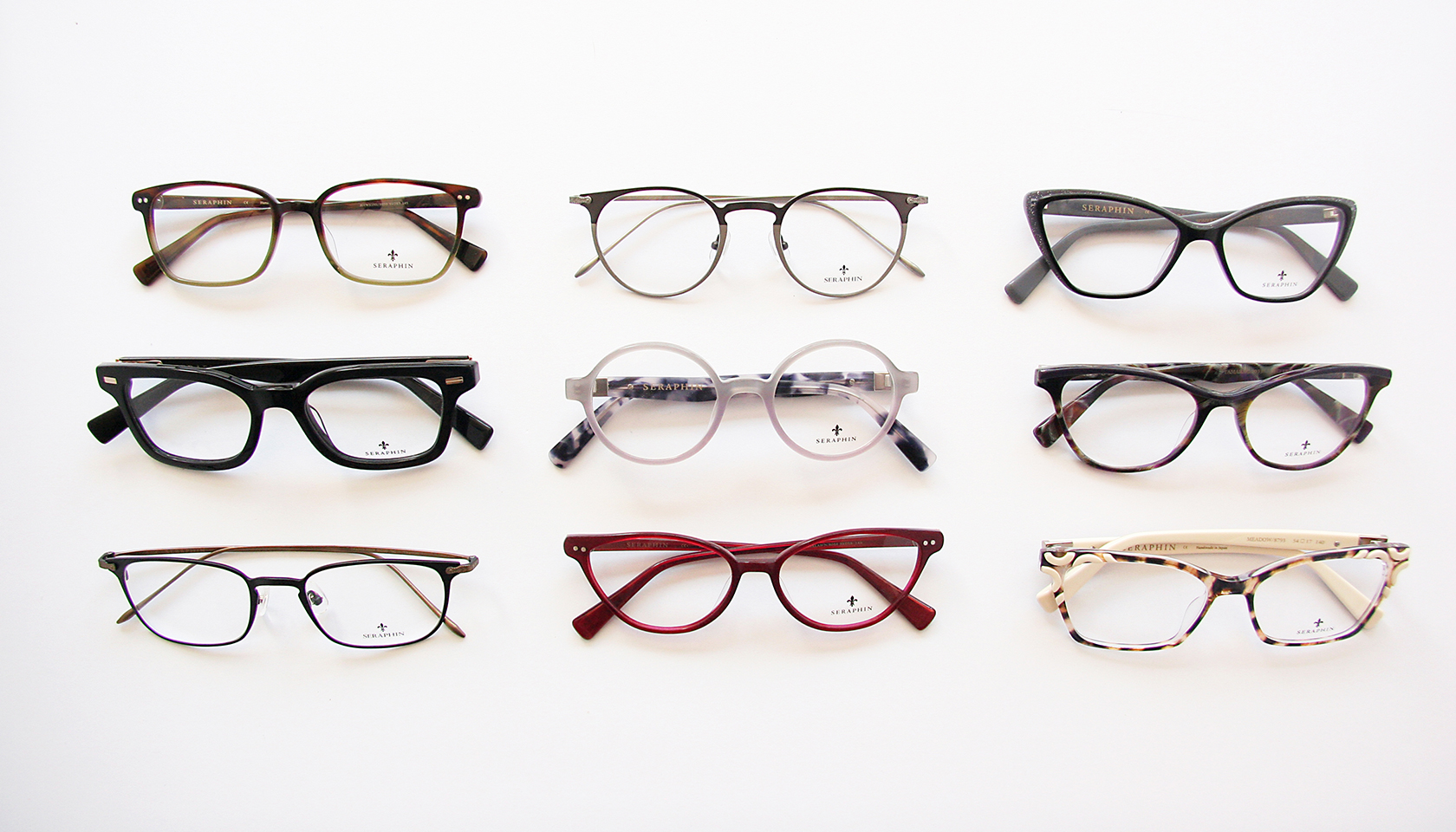 Seraphin Eyeglasses at Hillcrest Optical