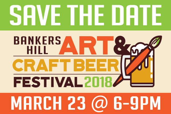 Banker's Hill Art & Craft Beer Festival 2018!
