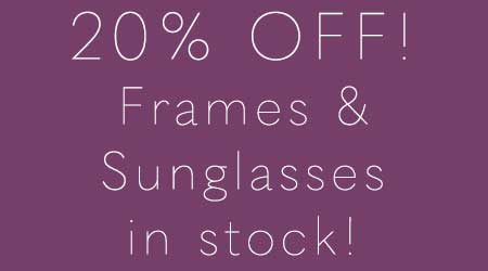 Hillcrest Optical's Big yearly Frame Sale
