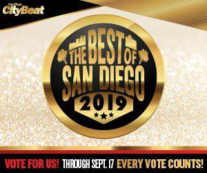 Vote us Best Eyewear in San Diego 2019
